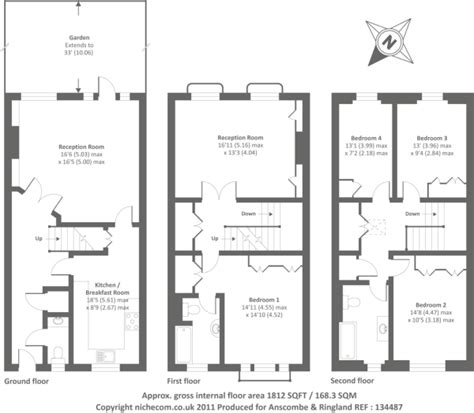 terraced house floor plan average garage door size nabelea com