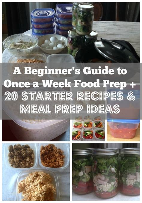 meal prep beginner s guide 35 days meal plan books a beginner s guide to once a week food prep 20 starter