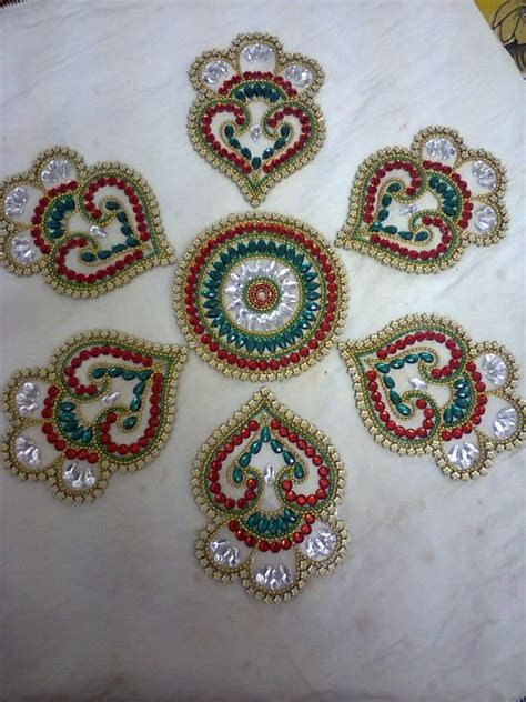 kundan rangoli kundan rangoli in chennai tamil nadu india kundan crafts