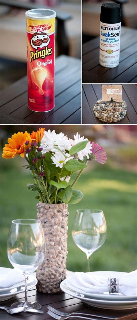 Vase Craft Ideas by Diy Rustic Rock Vase