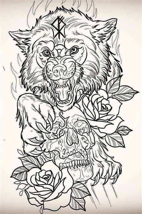tattoo design wolf best 25 wolf tattoos ideas on pinterest forest tattoo