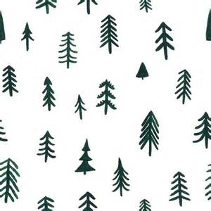 pine trees kate pugsley holiday inspiration