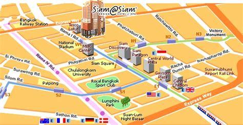 design online map bangkok hotel siam siam design hotel spa online