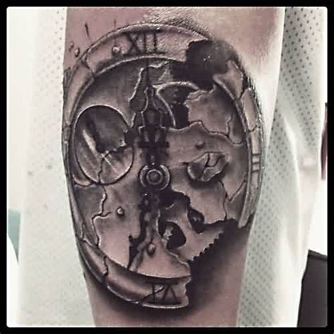broken compass tattoo 34 best broken clock images on broken