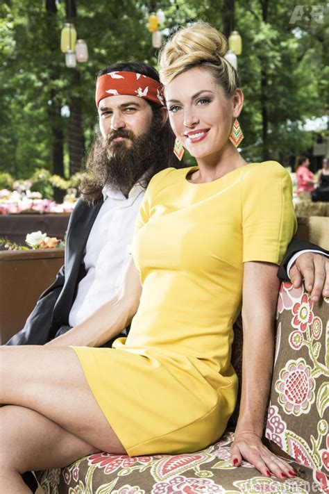 duck dynasty jessica robertsons hair style photos phil robertson ms kay vow renewal ceremony from
