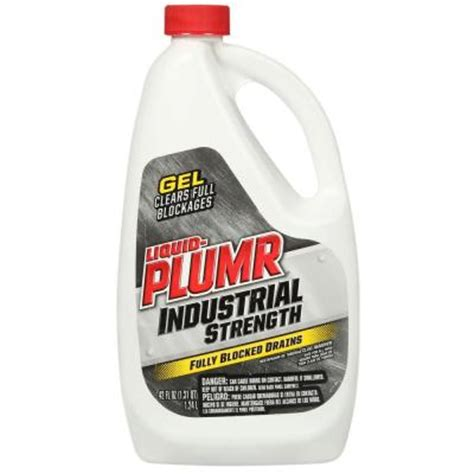 liquid plumr 42 oz industrial strength gel drain opener