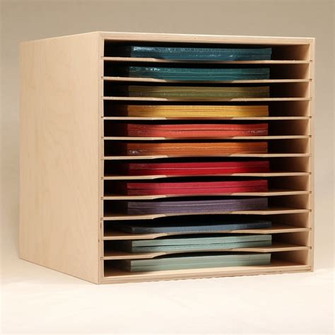 12x12 Craft Paper Storage - paper holder for ikea st n storage
