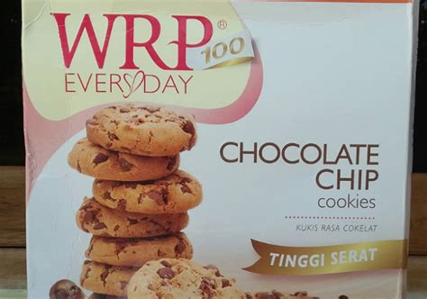 Wrp Cookies Chocolate Chip 240g wrp cookies chocolate chips yukcoba in
