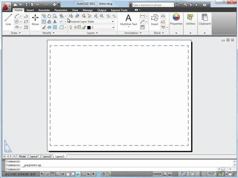 autocad layout use autocad plotting tutorial plot a drawing layout in