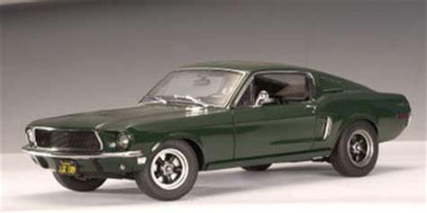 autoart: 1968 ford mustang gt 'bullitt' steve mcqueen