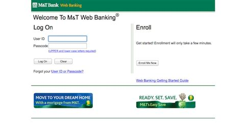 m and t bank sign in m t bank login mtb banking