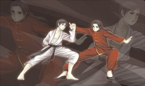 anime fight martial arts axis powers hetalia himaruya hidekaz wallpaper