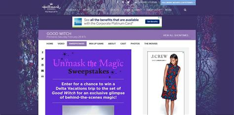 Hallmark Channel Sweepstakes 2015 - hallmark channel good witch unmask the magic sweepstakes