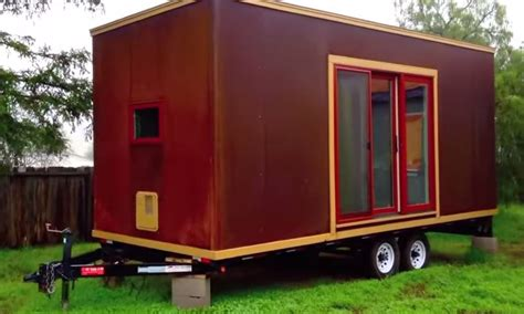 building a tiny house on wheels 172 sq ft tumbleweed mica tiny house on wheels tour