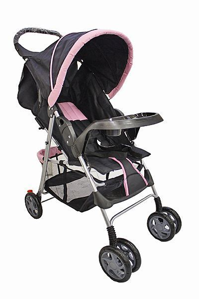 Reclining Strollers by On Me Reclining Stroller With Console Pink Baby