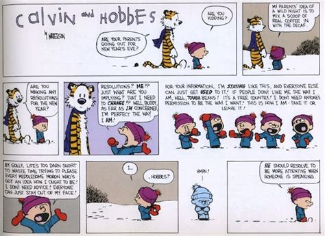calvin and hobbes new years resolution resolving to calvin and hobbes 20 years later