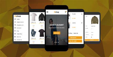 ecommerce mobile template 20 html ui kit for mobile e commerce app desiznworld
