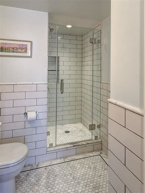 Modern White Tile Bathroom Photos Hgtv