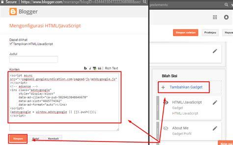 cara membuat iklan adsense responsive membuat blog adsense cara membuat unit iklan content