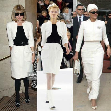 Who Wore Chanel Couture Better Wintour Or by 102 Besten S M Bilder Auf K 246 Niglicher Stil