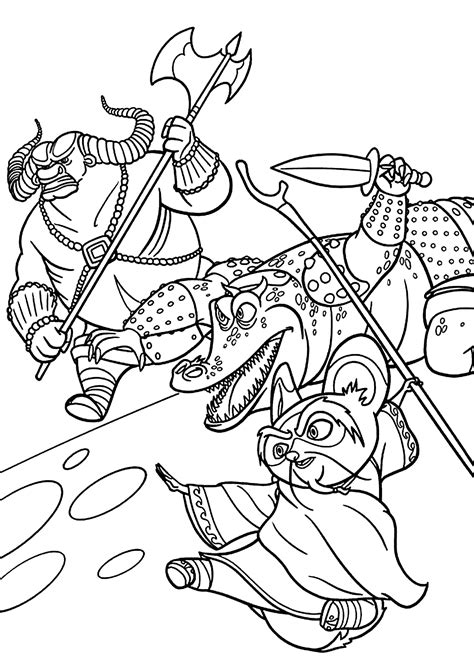 kung fu panda legends of awesomeness coloring pages master shifu from kung fu panda coloring pages for kids
