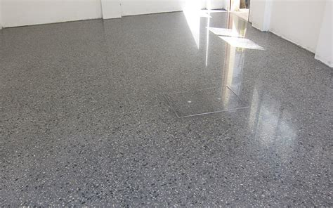 Grey Livingroom all polished concrete grinding in o connor perth wa