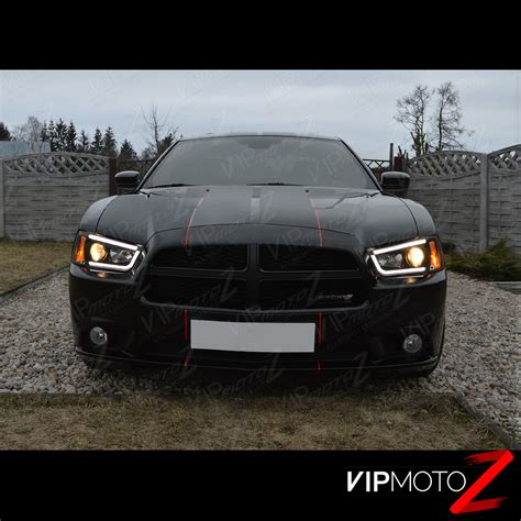 might d light charger 2011 2012 2013 2014 dodge charger black projector