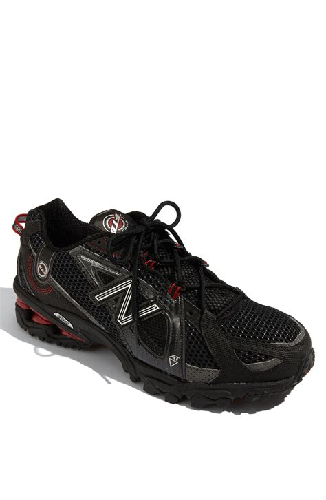 black running shoes for new balance 814 trail running shoe in black for black