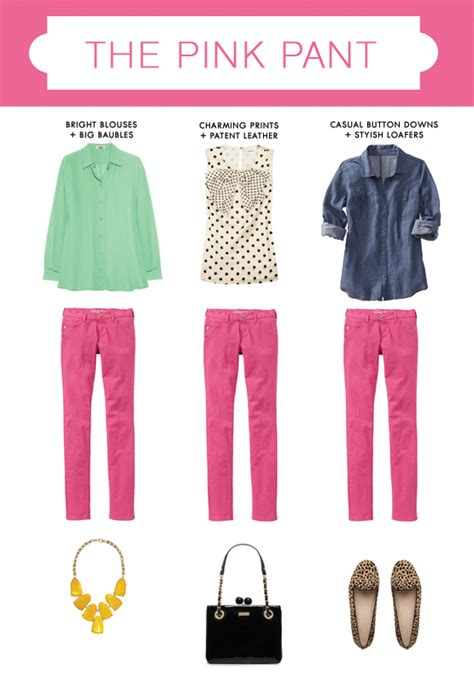 what goes with pink what to wear with