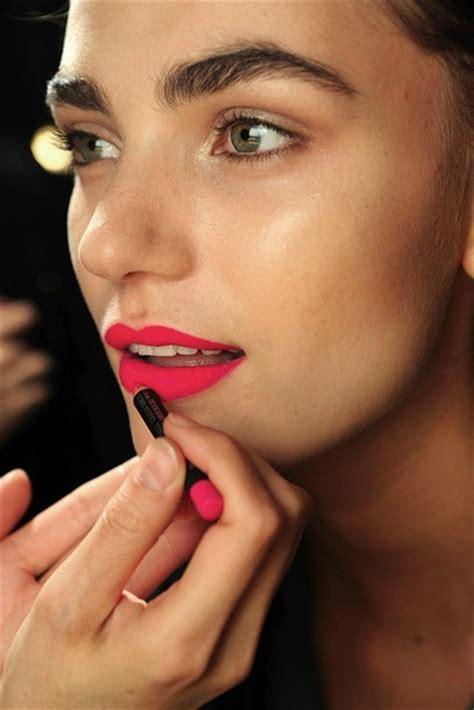 mattes make up make up lipstick beautiful model pink matte matte