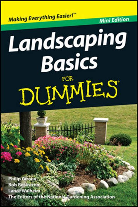 wiley landscaping basics for dummies mini edition
