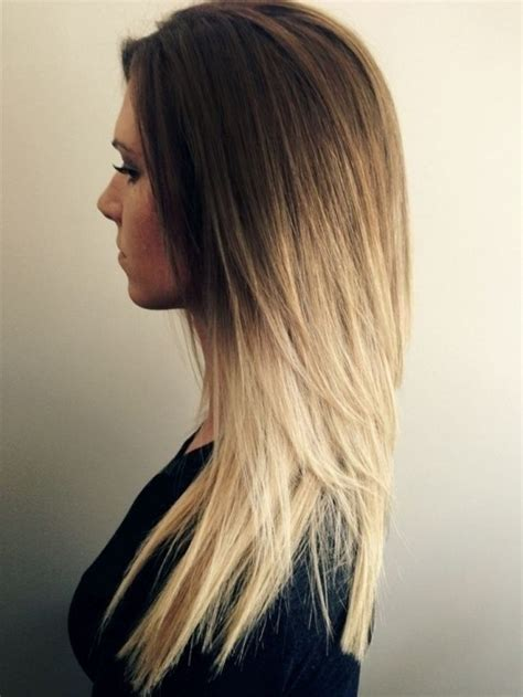 shape up for long hair the most awesome v shaped haircut long layers regarding