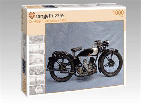 Motorrad Puzzle 1000 Teile by Puzzle Quot Z 252 Ndapp Z 300 Baujahr 1929 Quot Orangepuzzle