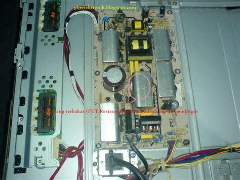 Power Supply Powersupply Regulator Led Tv Sharp Aquos Lc 50le450m tv lcd polytron 123 mati total elektronik service center