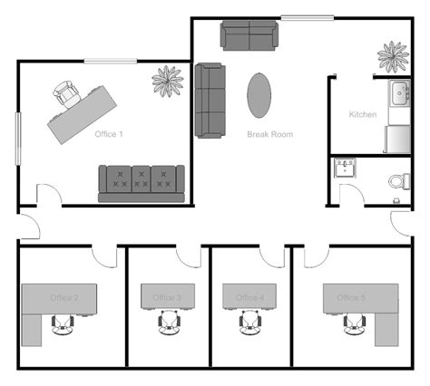 small medical office floor plans office layout clipart 55
