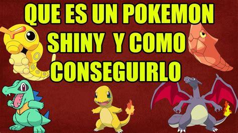 que se ignifica pattern en español que es un pokemon shiny y como conseguirlo 3 metodos