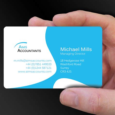 Chartered Accountant Visiting Card Templates by Plastic Card Designs Of The Week