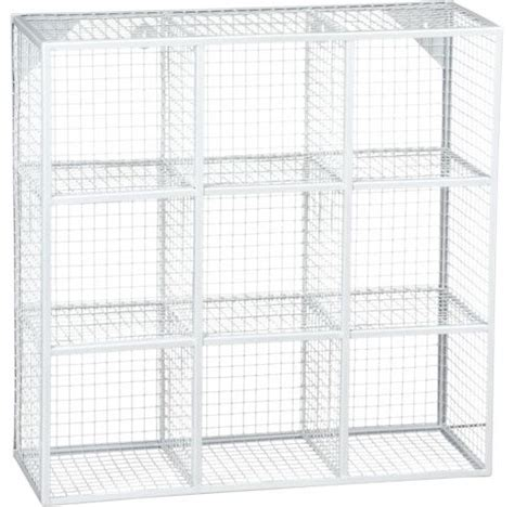 white wire shelving wire 9 cube white wall shelf modern display and wall