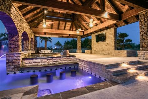 pool house plans with bar 28 images 53 best images about outdoor kitchen bar on pool houses fantastic multi use pool area with swim up bar built in