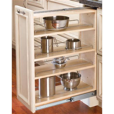 kitchen cabinet organizers pull out rev a shelf kitchen base cabinet fillers with pull out storage