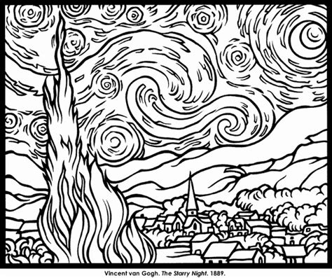 coloring pages of art great impressionist coloring pages art with kids