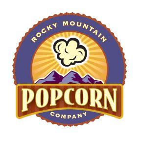 popcorn logo material girl rocky mountain popcorn rocks my world