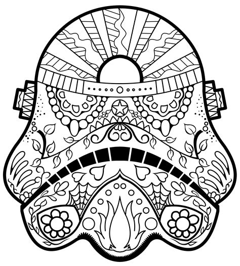 anatomy coloring book skull wars day of the dead skull coloring pages