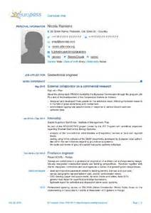 European Curriculum Vitae Format by Another Latex Template For The 2013 Europass Cv Rainnic