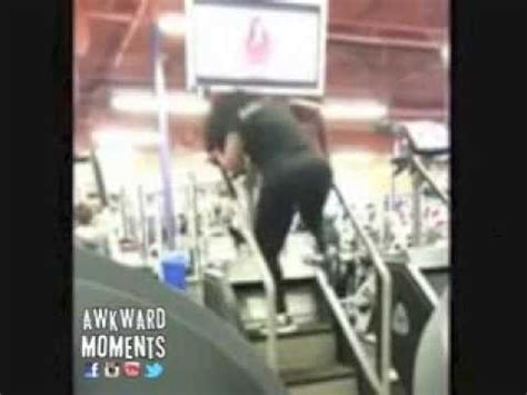 crazy lady on stairmaster || awkward gym moments youtube