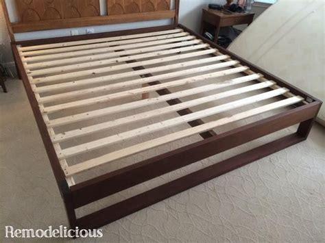 build   king size platform bed woodworking