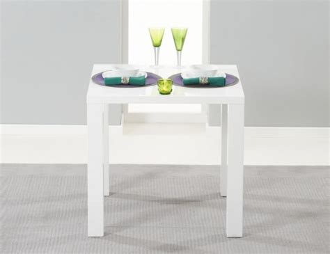 white gloss kitchen table small white high gloss kitchen table