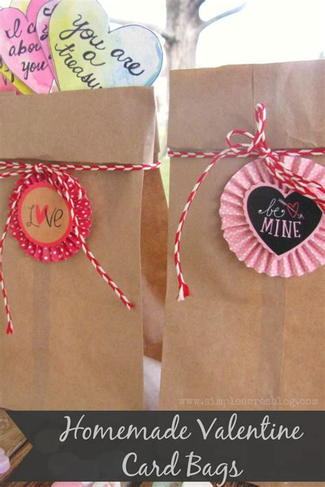 card bags to make card bags simple acres
