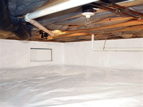 the cleanspace crawl space vapor barrier by nepean ottawa