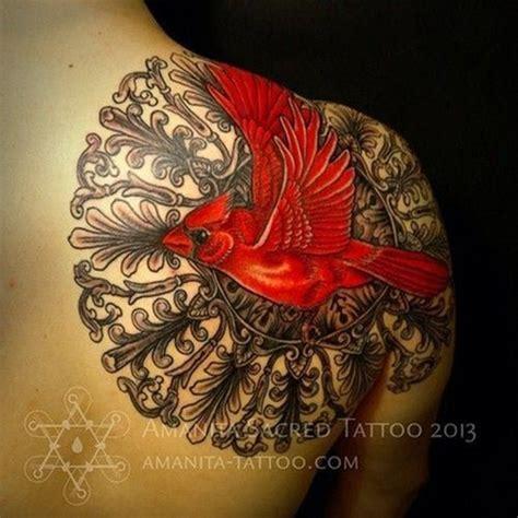 tattoo mandala bird tattoo by mike amanita cardinal mandala d my name quot anita